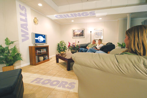 Total Basement Finishing™ System Installation Milwaukee Extraordinary Basement Remodeling Milwaukee