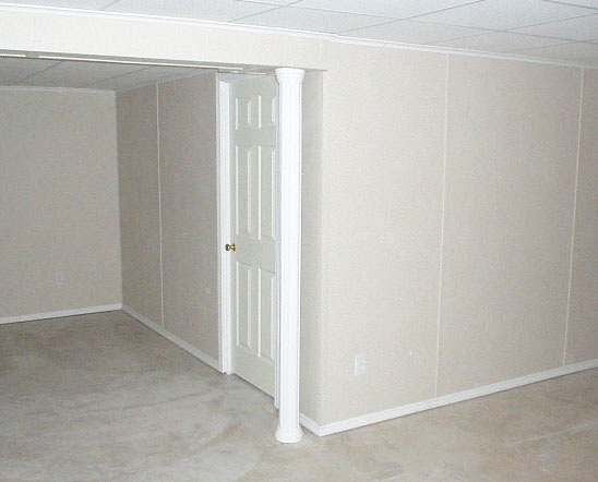 Finished Basement Wall Systems in Wisconsin Illinois