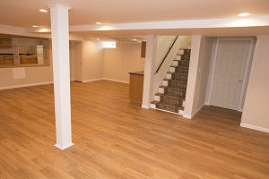 A Remodeled Basement With The Total Basement Finishing™ System