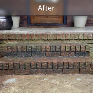 Sinking stairs repaired with PolyLevel® Milwaukee