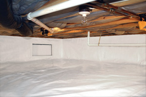 Crawl Space Repair After in Madison