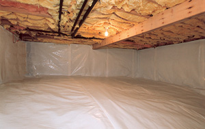 CleanSpace® vapor barrier after in Madison