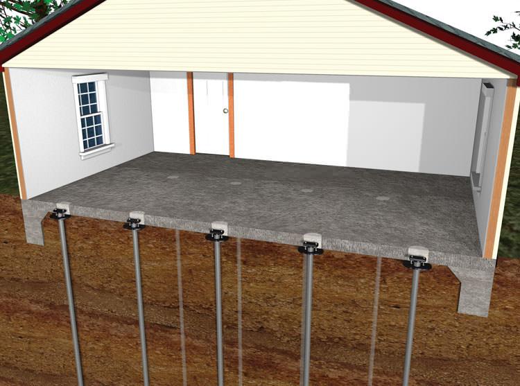 Remodeling Bathroom Slab Foundation basement slab | home decorating, interior design, bath & kitchen ideas