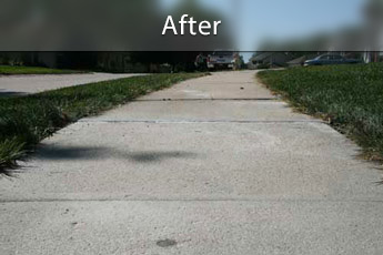 Fixing sunken concrete with PolyLevel® in Milwaukee