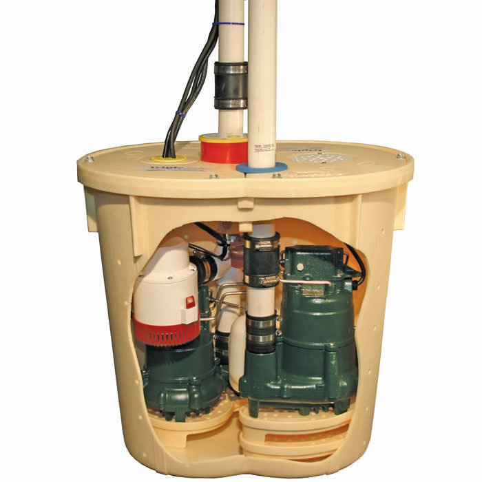 Sump Pump Systems Installed In Wisconsin & Illinois