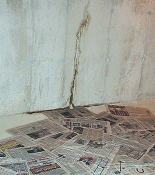 basement floor wall crack repair in wisconsin illinois repair