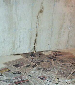 basement floor wall crack repair in wisconsin illinois