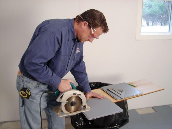 Basement Sub Floor Matting Options In Wisconsin Amp Illinois