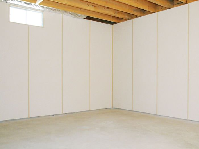 everlast basement wall panels cost systems lowes brightwall panel insulated