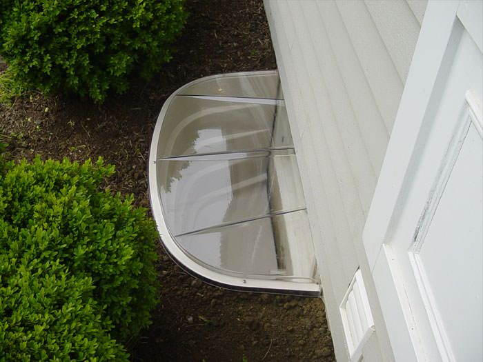 ... Covered Plastic Basement Window Well System ...